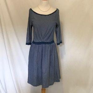 Anthropologie Postmark Striped dress size Med